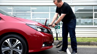 Nissan Leaf long termer first report - plugged in