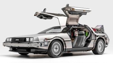 Petersen Automotive Museum - DMC DeLorean Back to the Future - front static