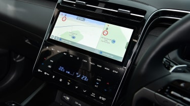 Hyundai Tucson - screen
