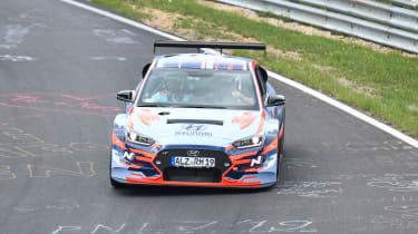 Hyundai RM19 - front cornering nurburgring