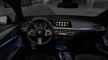 New BMW M135i 2019 1 Series dash