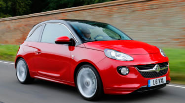 Vauxhall Adam front action