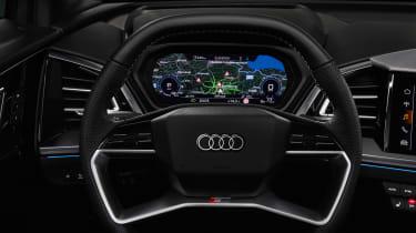 Audi Q4 e-tron - steering wheel