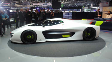 Pininfarina H2 Speed concept - Geneva show side