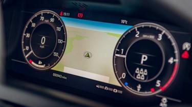 Land Rover Discovery Sport digital dials