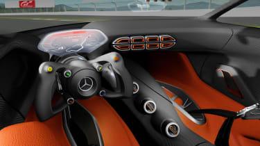 Mercedes-AMG Vision GT - interior