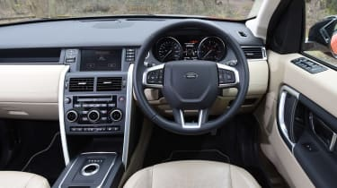 Land Rover Discovery Sport long-term - dash
