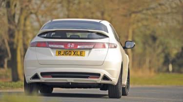Honda Civic Ti rear corner
