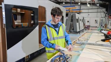Making a motorhome - Martin plywood