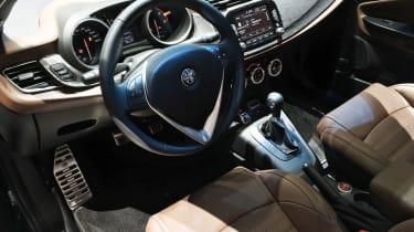 Alfa Romeo Giulietta Veloce - Geneva dash