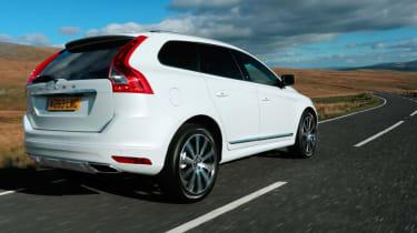 Volvo XC60 rear tracking