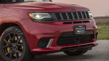 1012bhp Hennessey Jeep Trackhawk front grille