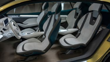 Skoda Vision E concept - seats