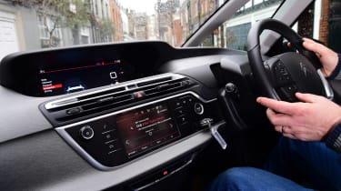 Citroen C4 Picasso long termer third report - interior