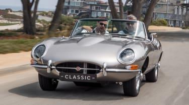 Jaguar E-Type Zero - front action