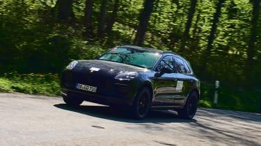 Porsche Macan prototype - front action