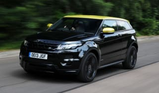 Range Rover Evoque front tracking