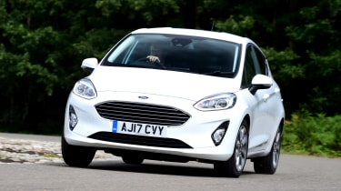 Ford Fiesta - front cornering