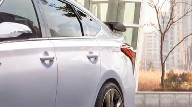 Hyundai i30 N Fastback rear detail