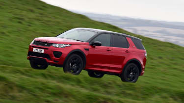 Land Rover Discovery Sport - front/side