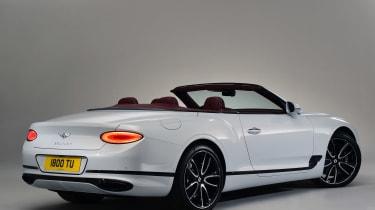 Bentley Continental GTC - studio rear