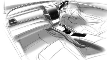 SsangYong Rexton 2017 sketch interior