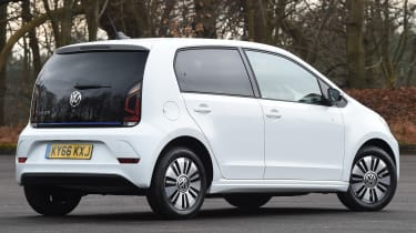Volkswagen e-up! electric car 2017 - rear quarter