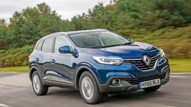 Renault Kadjar - front action