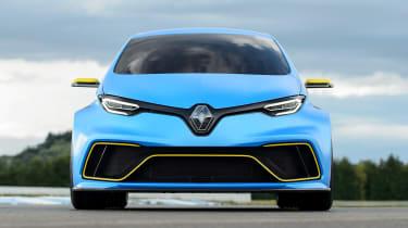 Renault ZOE E-Sport concept - full front static
