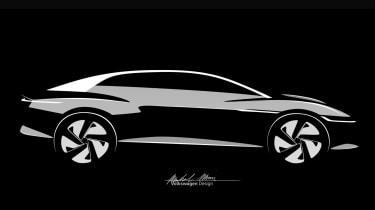 VW ID Vizzion teaser