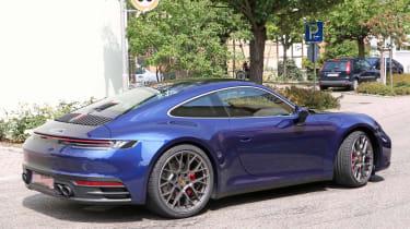 Next generation Porsche 911 rear end