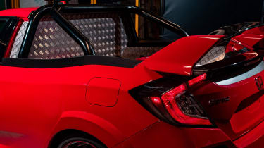 Honda Civic Type R Pickup Truck Concept - load bay