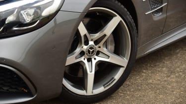Mercedes SL 400 - wheel