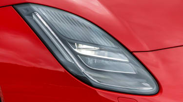 Jaguar F-Type 4-cyl review - headlight