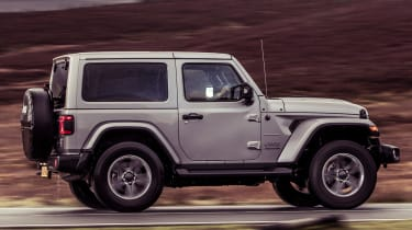 Jeep Wrangler  - side tracking