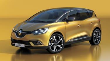 Renault Scenic - front studio