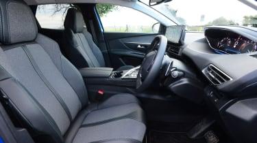 New Peugeot 3008 facelift 2020 cabin