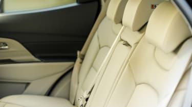 SsangYong Korando - rear seats