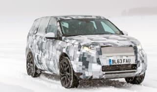 Land Rover Discovery Sport prototype front