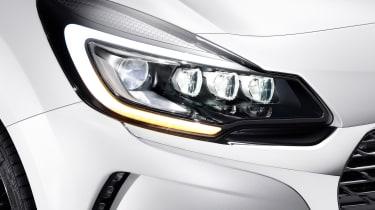 DS 3 hatchback - headlight