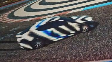 Hyundai hydrogen-powered sports saloon teaser 4
