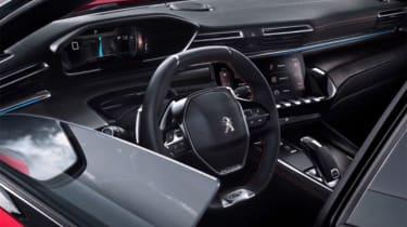 Peugeot 508 leaked - interior