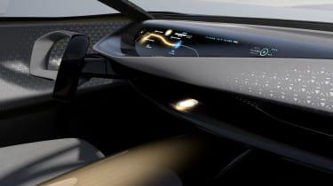 Nissan IMQ concept - cabin
