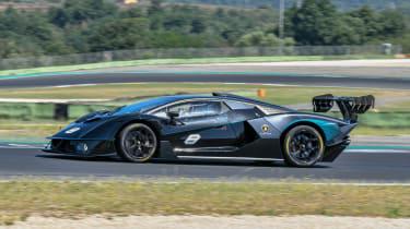 New Lamborghini Essenza SCV12 2021 review - side