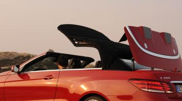 Mercedes E400 Cabriolet roof mechanism
