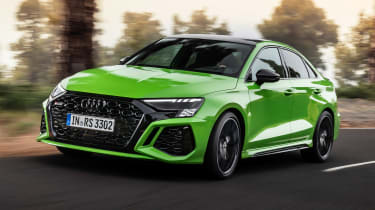 Audi RS 3 Saloon - front action