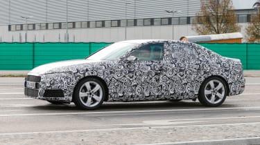 New Audi A4 2015 spy shots 3