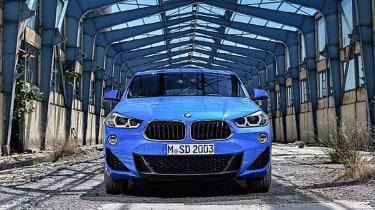 BMW X2 leak front