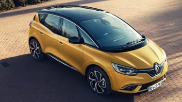Renault Scenic - above