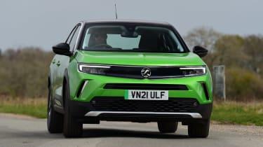 Vauxhall Mokka-e - front cornering